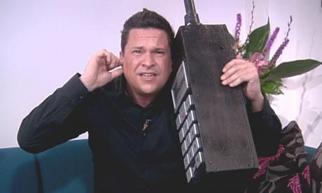Dom Jolly on a BIG phone!